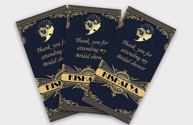 DL Thank You Cards